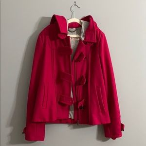 Guess Los Angeles Hot Pink Winter Coat